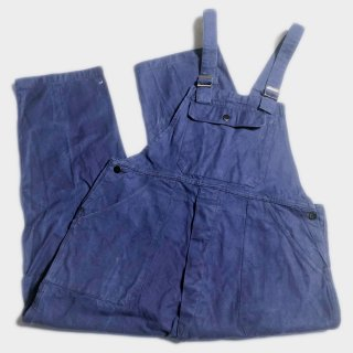 50's COTTON TWILL OVERALL