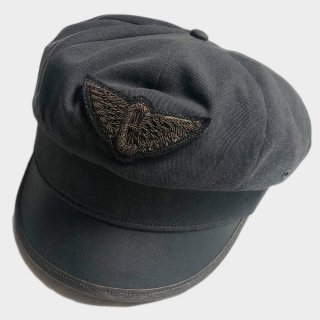 LEATHER MOTORCYCLE CAP (M)