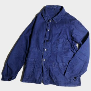 40's BLUE COTTON CHORE JKT