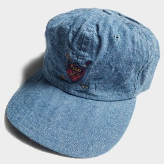 GOLF LOGO CHAMBRAY CAP(USA)