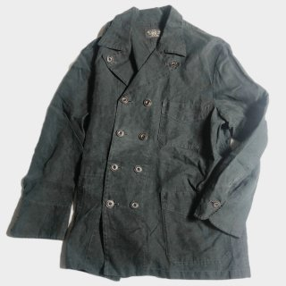 BK LINEN DOUBLE BREASTED JKT