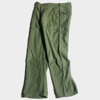 60's U.S. ARMY UTILITY TROUSERS(34)