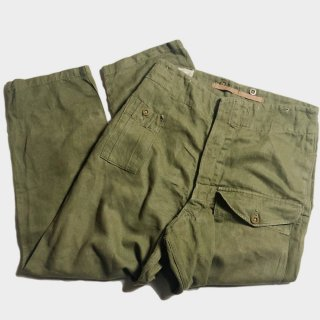 50's BRITISH A. GREEN DENIM O.T. (4)