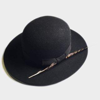 WOOL BOWLER HAT