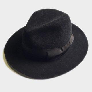 WOOL VELOUR FEDORA HAT
