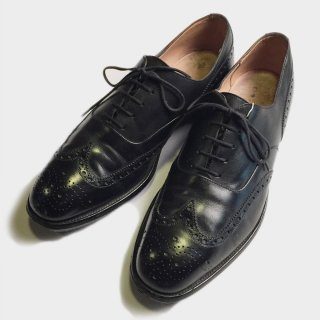 WING TIP DRESS SHOES