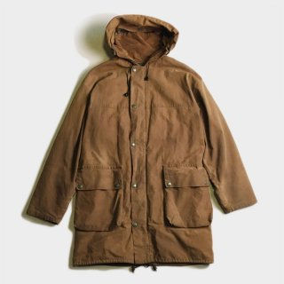 80'S OILED COTTON HOOD COAT