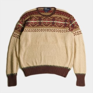 NATIVE LINEN CREW SWEATER