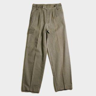 80's GURKHA PANTS