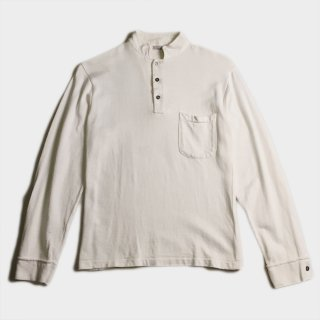 MAO COLLAR L/S POLO SHIRTS