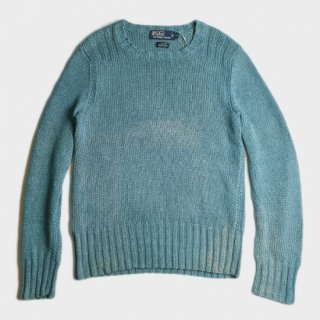 LINEN  HAND KNIT SWEATER
