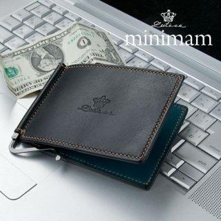 minimam/マネークリップ/ミネルバリスシオ革