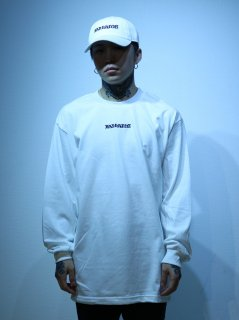 【BAD HANDS】BAD HANDS LOGO Long Sleeve TEE(White)