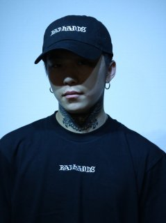 【BAD HANDS】LOGO CAP(Black)