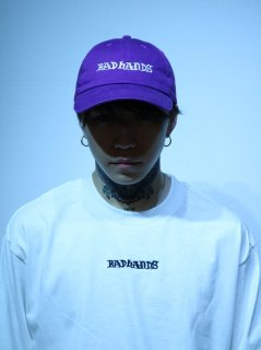 【BAD HANDS】LOGO CAP(Purple)