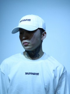 【BAD HANDS】LOGO CAP(White)