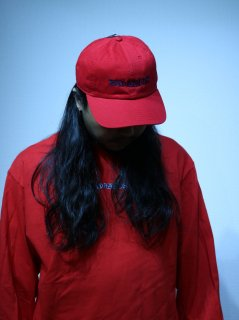 【BAD HANDS】LOGO CAP(Red)