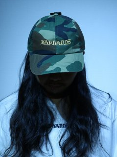 【BAD HANDS】LOGO CAP(迷彩)