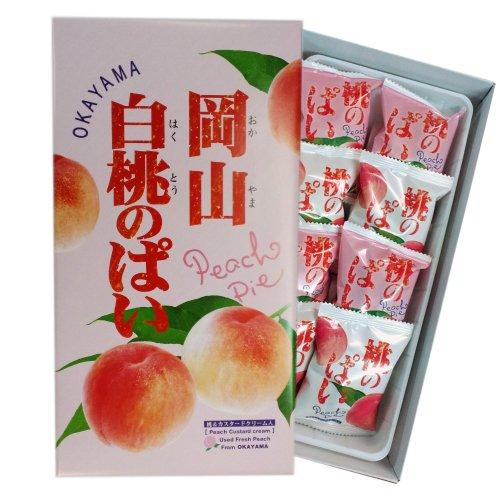 岡山白桃のぱい(小)8個入