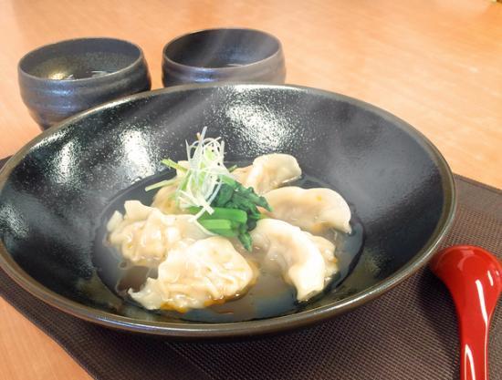 鶏飯スープ&奄美島豚餃子セット