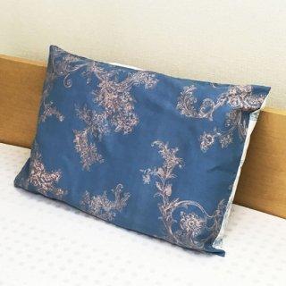 ラテシア ロイヤル 枕カバー G【肩こり防止枕用】 45×63cm 封筒式 ブルー
