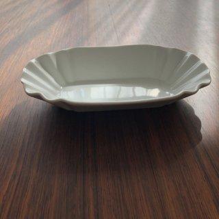 フランスアンティーク 白釉皿1