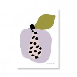 Tutti Frutti Papaya A5 ポスター