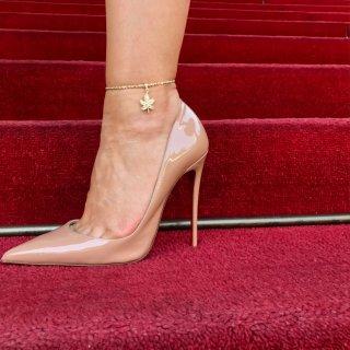 10K Yellow Gold ロープチェーン[アンクレット](2.5mm×20cm)