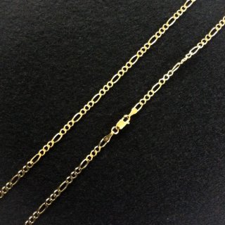 10K Yellow Gold フィガロチェーン(3.0mm×60cm)