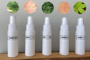 【期間限定!特別価格】熊野の香り® 芳香蒸留水(フローラルウォーター) 「熊野の森」香りくらべ♪お得なトライアルセット(30ml×5種)