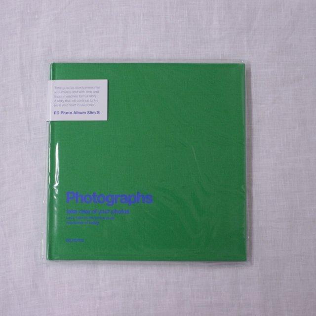 PDフォトアルバムスリムS/グリーン