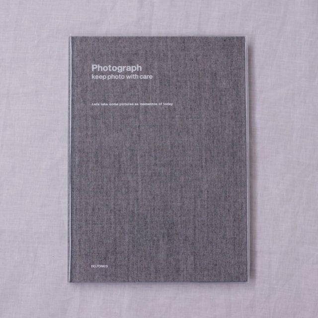 PDフォトアルバムベーシックB5/シャンブレーグレー
