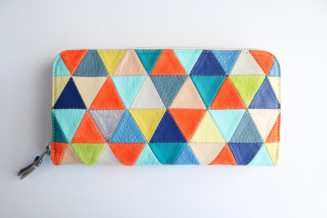 QUILTWORK LONG WALLET