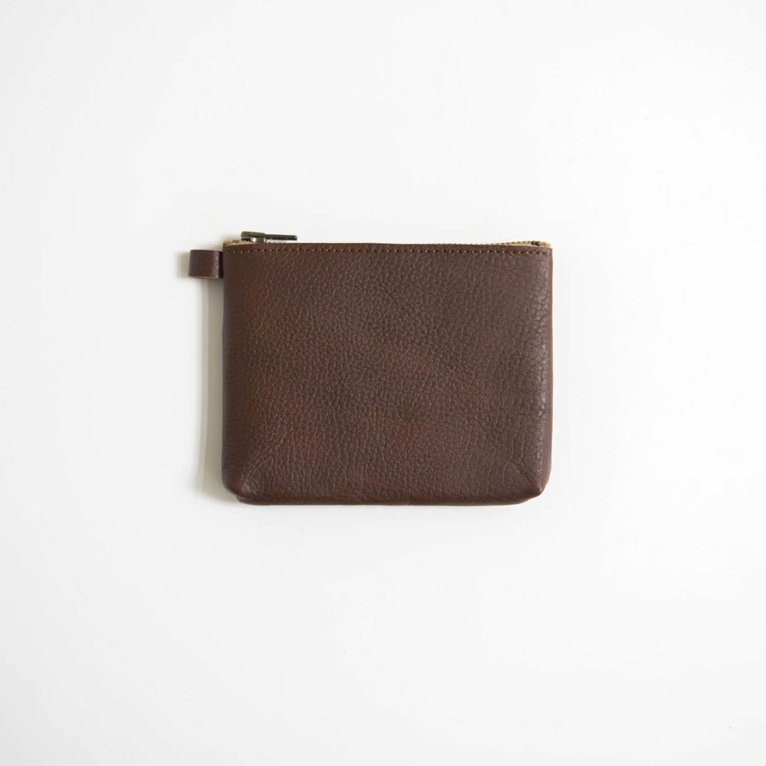 Leather pouch S Brown