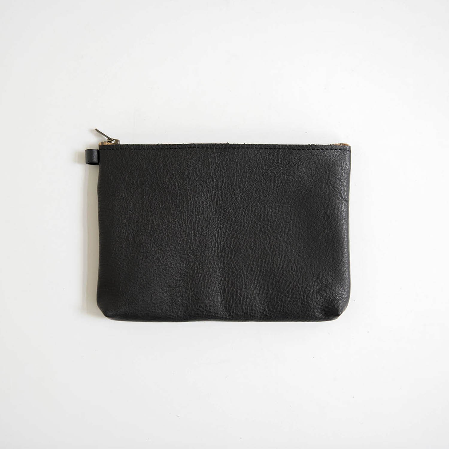 Leather pouch S Black