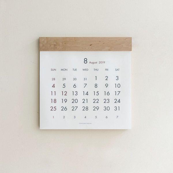 Original Calendar イタヤカエデ
