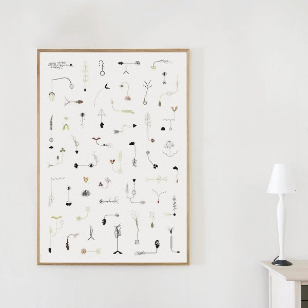 Poster Rain Tree 70×100cm