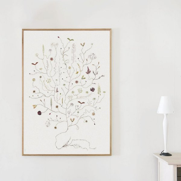 Poster August Tree 70×100cm