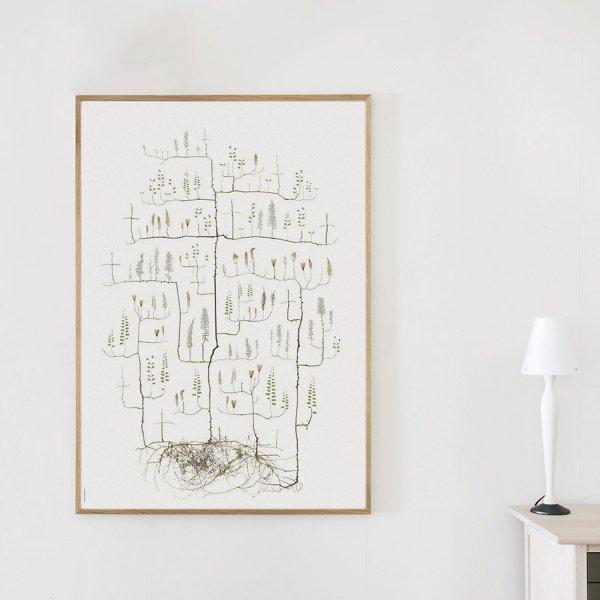 Poster Moth Tree 70×100cm