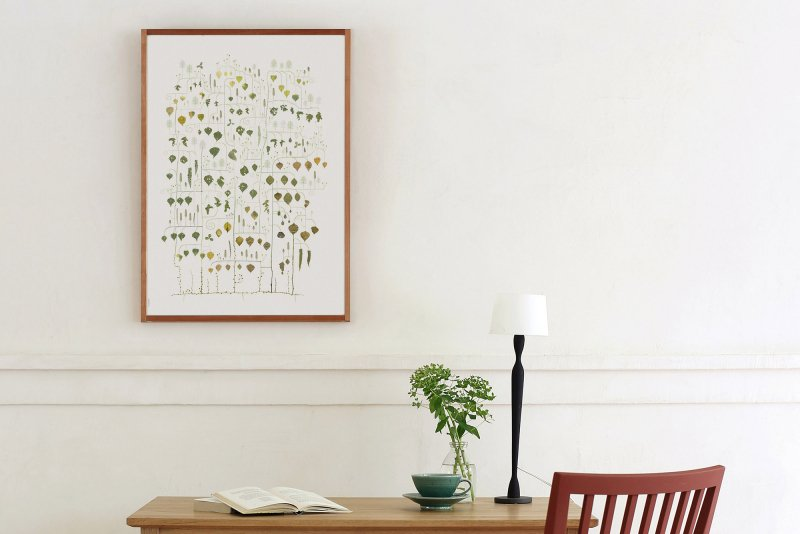 Poster Birch Tree 50×70cm