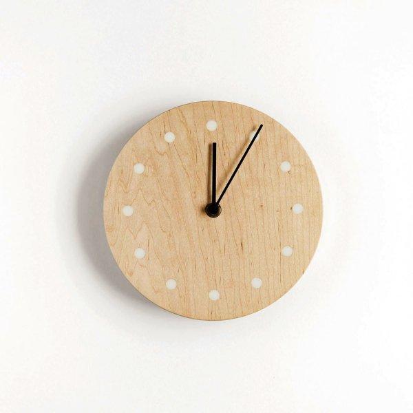 Wall Clock Round イタヤカエデ