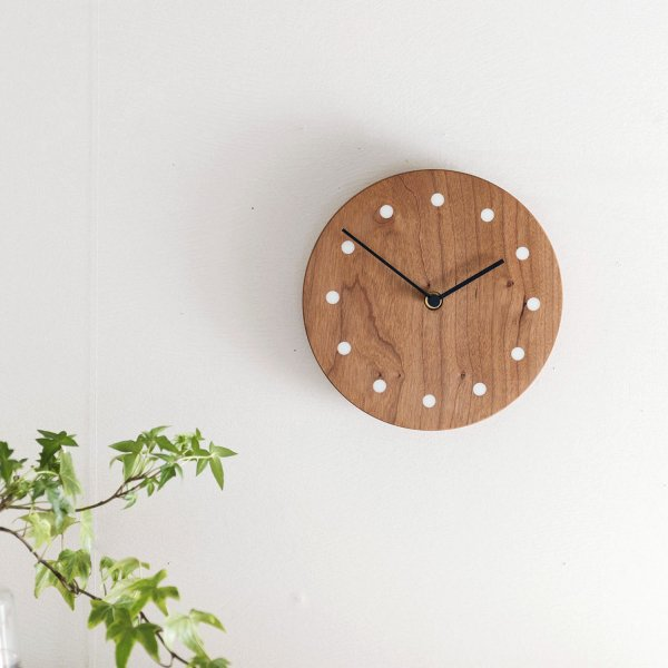 Wall Clock Round チェリー