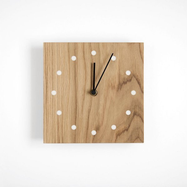 Wall Clock Square ナラ