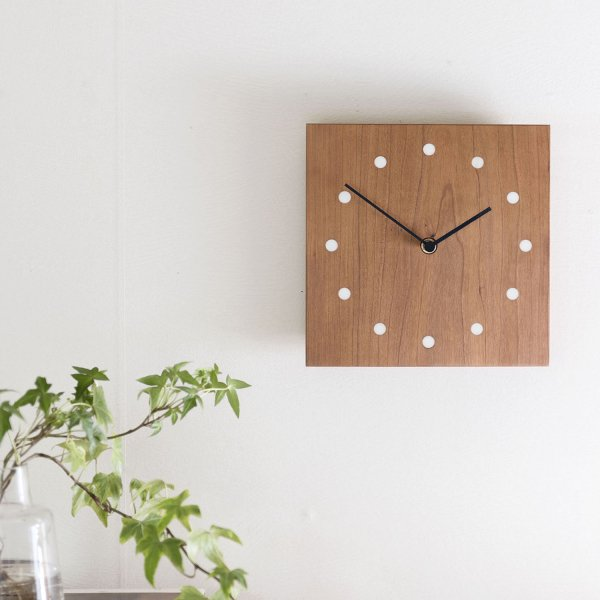 Wall Clock Square チェリー