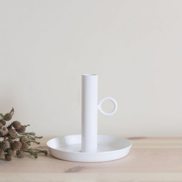 Iron Candle Holder WHITE<img class='new_mark_img2' src='https://img.shop-pro.jp/img/new/icons14.gif' style='border:none;display:inline;margin:0px;padding:0px;width:auto;' />