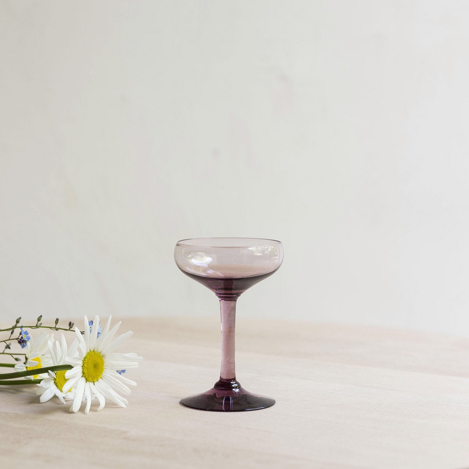 Vintage liqueur glass