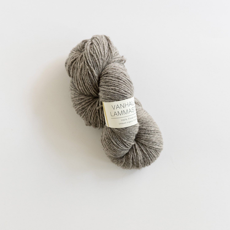VANHALAN LAMMASTILA <br> フィンランドシープの毛糸 grey