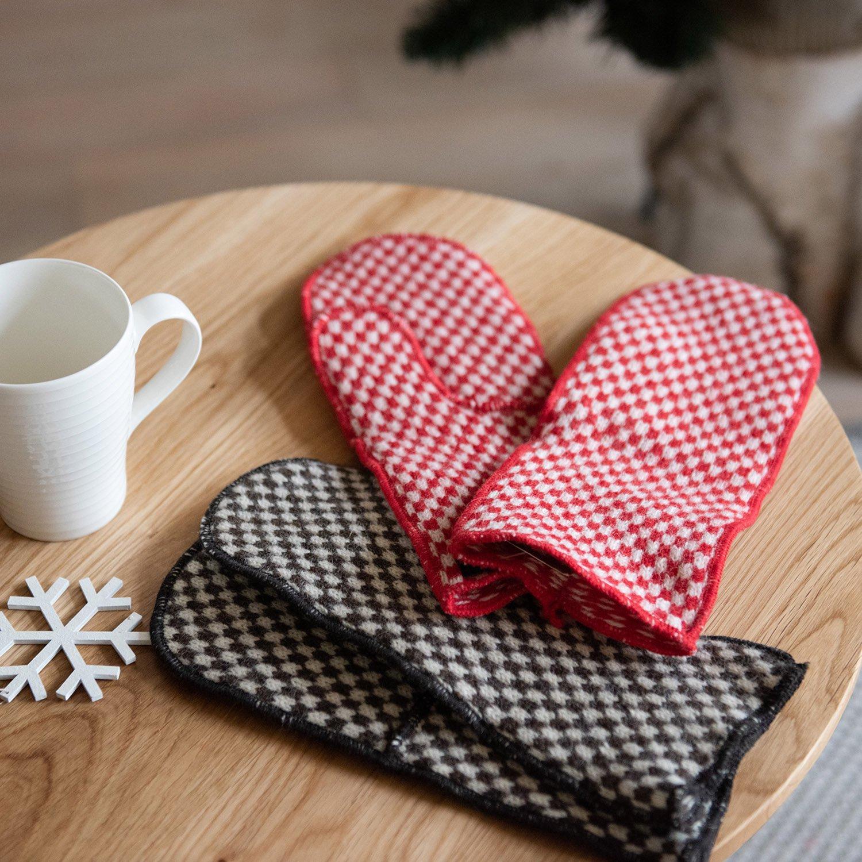 ANNO design Stockholm ウール手袋 Rutig