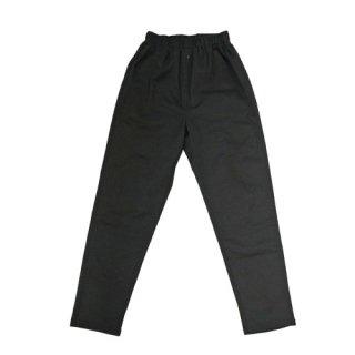 ストレッチ長パンツ(黒)
