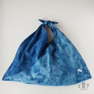 おかちゅうのあづま袋 藍染 ※ネコポス対応